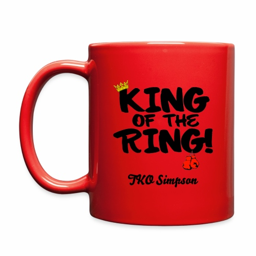 King of the Ring Coffee Cup  - Full Color Mug