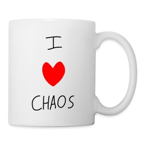 I heart CHAOS - Coffee/Tea Mug