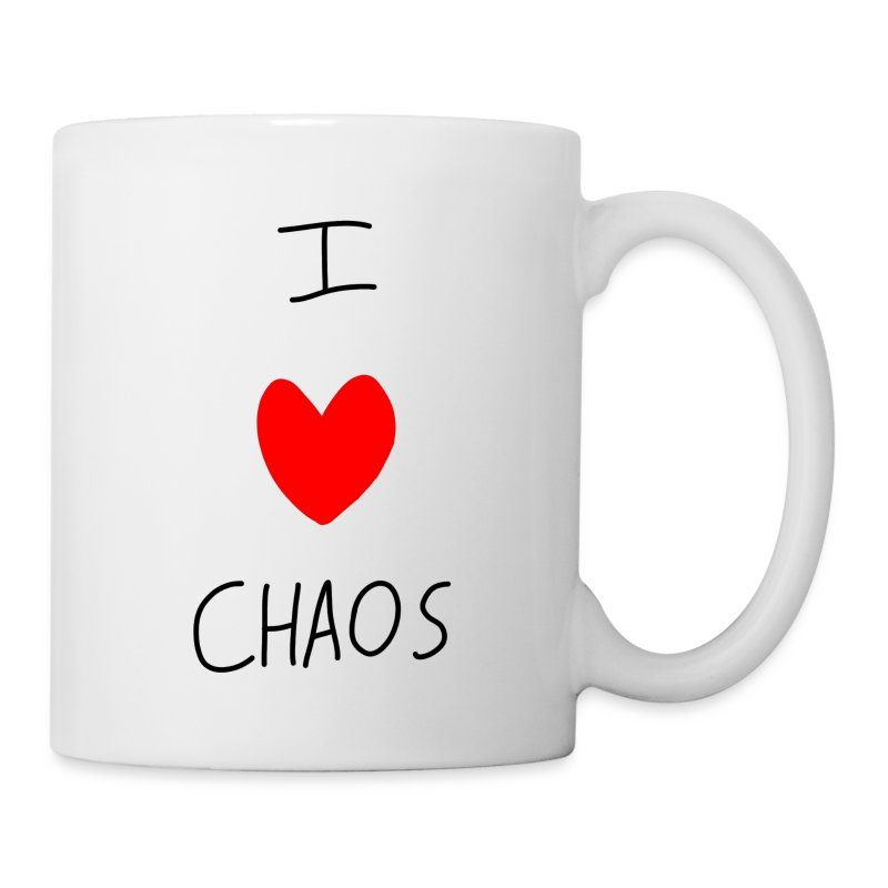I heart CHAOS - Coffee/Tea Mug