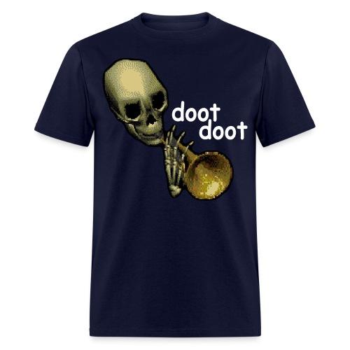 Skull Trumpet Dark Men's Shirt - Men's T-Shirt