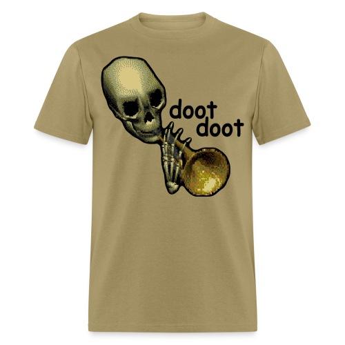 Skull Trumpet Light Men's Shirt - Men's T-Shirt