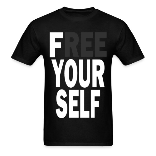 Free Yourself - Men's T-Shirt
