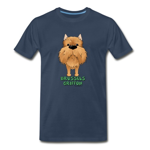 Big Nose Brussels Griffon - Men's Premium T-Shirt