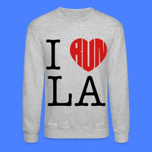 I Run LA Long Sleeve Shirts - stayflyclothing.com - Crewneck Sweatshirt
