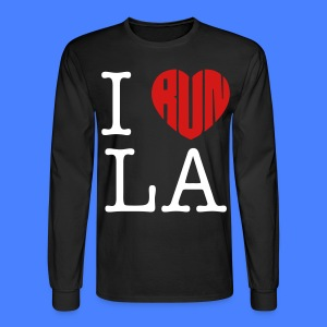 I Run LA Long Sleeve Shirts - stayflyclothing.com - Men's Long Sleeve T-Shirt
