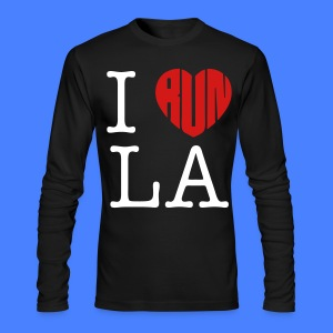 I Run LA Long Sleeve Shirts - stayflyclothing.com - Men's Long Sleeve T-Shirt by Next Level