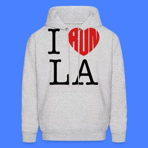 I Run LA Hoodies - stayflyclothing.com - Men's Hoodie