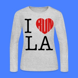 I Run LA Long Sleeve Shirts - stayflyclothing.com - Women's Long Sleeve Jersey T-Shirt