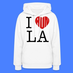 I Run LA Hoodies - stayflyclothing.com - Women's Hoodie