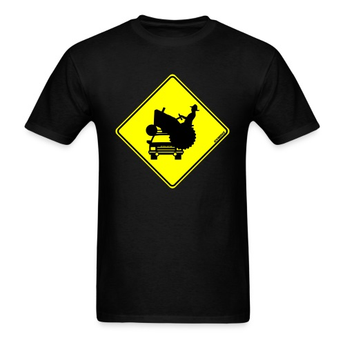 Beware of Tractors T-Shirt - Men's T-Shirt