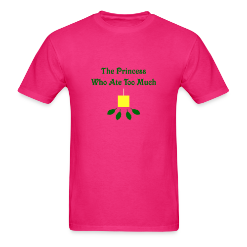 The Princess Who Ate Too Much Men's Shirt - Men's T-Shirt