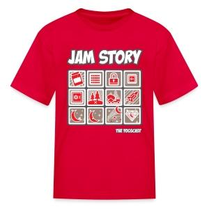 Kids Tee: Jam Story - Kids' T-Shirt