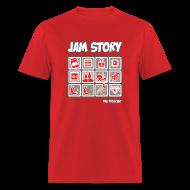 T-Shirts ~ Men's T-Shirt ~ Mens Tee: Jam Story
