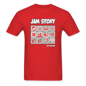 Mens Tee: Jam Story - Men's T-Shirt