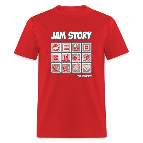 Mens Tee: Jam Story - Men's T-Shirt