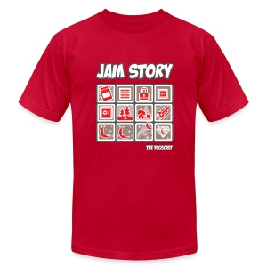 Superior Mens Tee: Jam Story - Men's T-Shirt by American Apparel