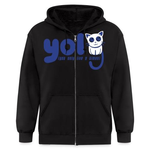 YOL9 Zipper Hoodie (Men's) - Men's Zip Hoodie
