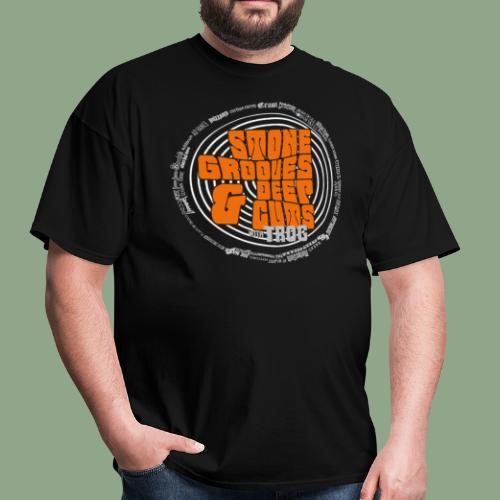 Stone Grooves & Deep Cuts - Spiral Logo T-Shirt (men's) - Men's T-Shirt