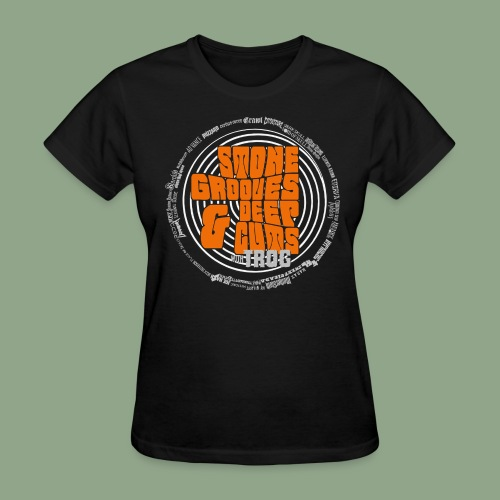 Stone Grooves & Deep Cuts -Spiral Logo T-Shirt (women's) - Women's T-Shirt
