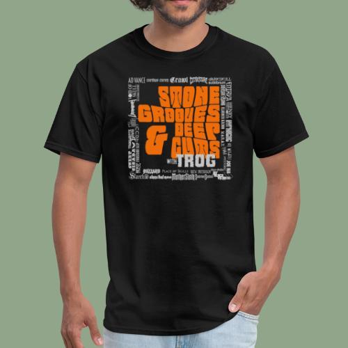 Stone Grooves & Deep Cuts - Pinch Logo T-Shirt (men's) - Men's T-Shirt