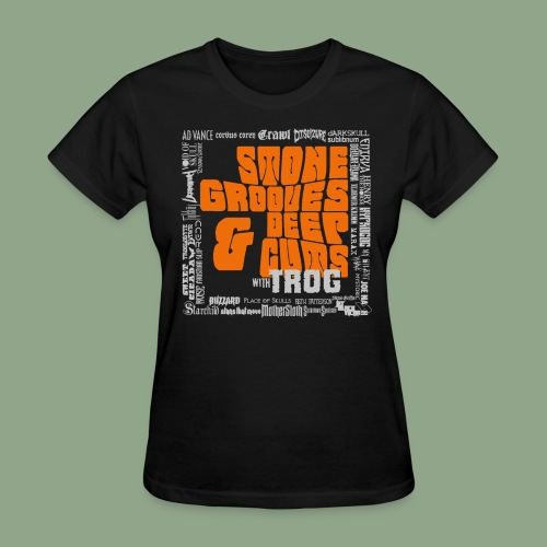 Stone Grooves & Deep Cuts - Pinch Logo T-Shirt (women's) - Women's T-Shirt