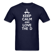 T-Shirts ~ Men's T-Shirt ~ Keep Calm And Love The D