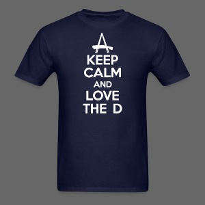 Keep Calm And Love The D - Men's T-Shirt