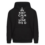 Hoodies ~ Men's Hoodie ~ Keep Calm And Love The D