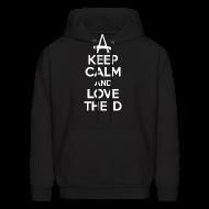 Hoodies ~ Men's Hoodie ~ Keep Calm And Love The D