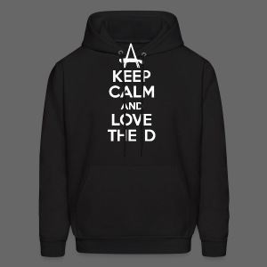 Keep Calm And Love The D - Men's Hoodie