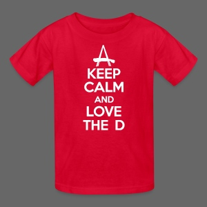 Keep Calm And Love The D - Kids' T-Shirt