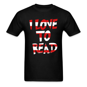 I Love To Read - Men's T-Shirt