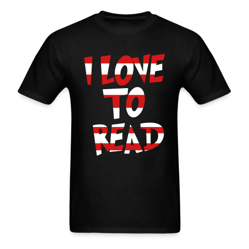 I Love To Read - Men's T-Shirt