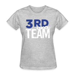 (name on back) 3rd Grade Team - Women's T-Shirt
