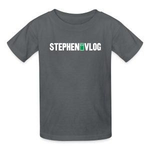 StephenVlog (Youth) - Kids' T-Shirt