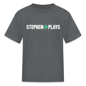 StephenPlays (Youth) - Kids' T-Shirt