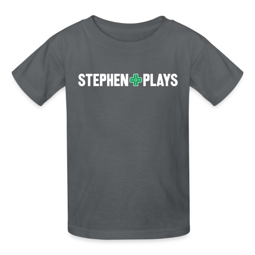 StephenPlays (Youth) - Kids' T-Shirt