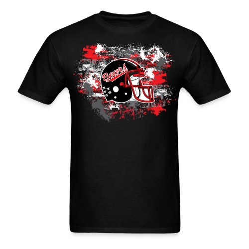 NEW! Helmet & Paint (Black) - Men's T-Shirt