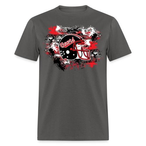 NEW! Helmet & Paint (Gray) - Men's T-Shirt