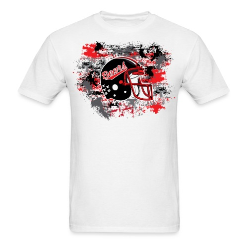 NEW! Helmet & Paint (White) - Men's T-Shirt