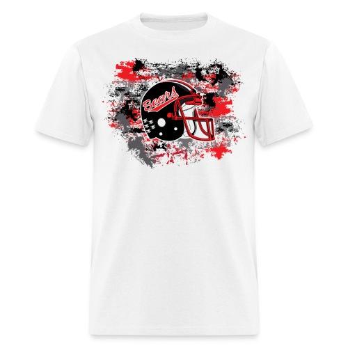 NEW! Helmet & Paint (White) - Men's T-Shirt