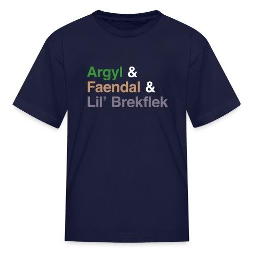 Argyl & Friends (Youth) - Kids' T-Shirt