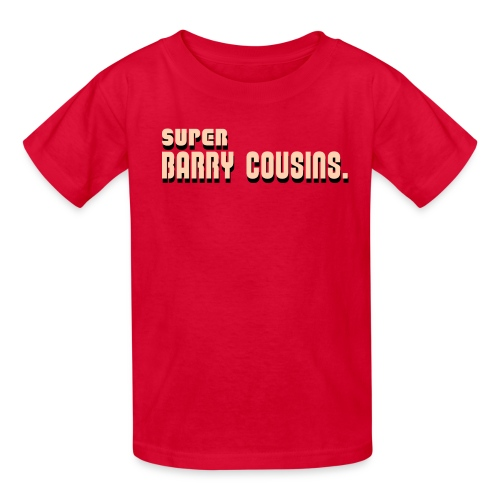 Super Barry Cousins (Youth) - Kids' T-Shirt