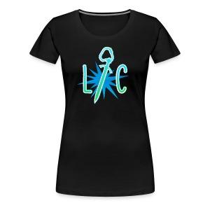 Lucky Crit Inverted Womens Tee - Women's Premium T-Shirt