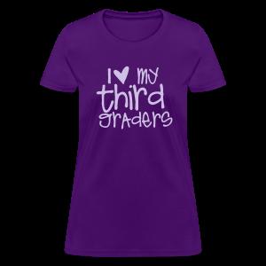 Love My Third Graders | Light Purple - Women's T-Shirt