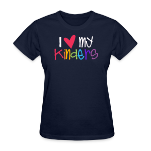 Love My Kinders - Women's T-Shirt