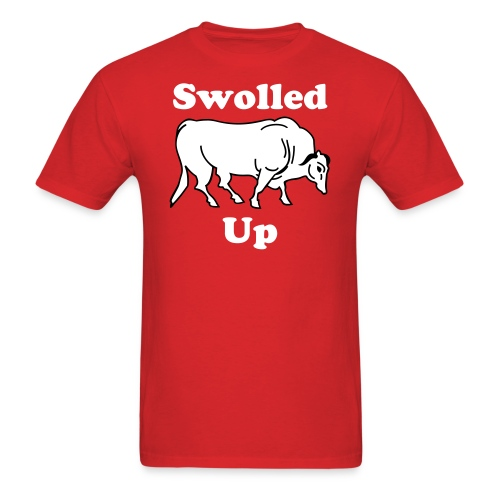 Swolled Up (red) - Men's T-Shirt