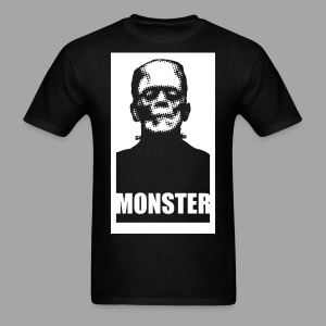 The Monster Halloween Horror Men's T Shirt - Men's T-Shirt