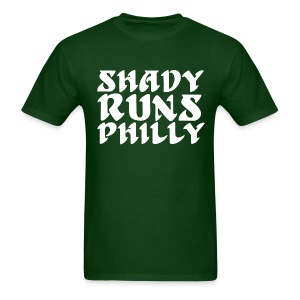 Shady Runs Philly Shirt - Men's T-Shirt