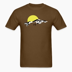 Mountains Sun Set sunset T-Shirts